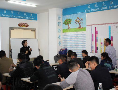 Internal staff sharing sessions